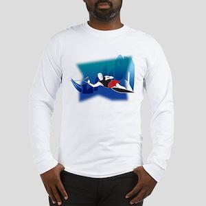 Slalom Waterskier Long Sleeve T-Shirt