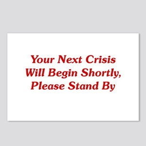 Your Next Crisis Postcards (Package of 8)