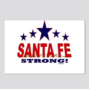 Santa Fe Strong! Postcards (Package of 8)