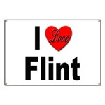 I Love Flint Banner
