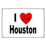 I Love Houston Banner