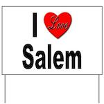 I Love Salem Yard Sign