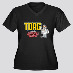 Chiller Drive-In - Torg Women's Plus Size V-Neck D