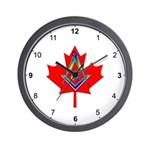 Canadian Mason Wall Clock