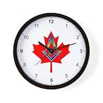 Canadian Mason Wall Clock