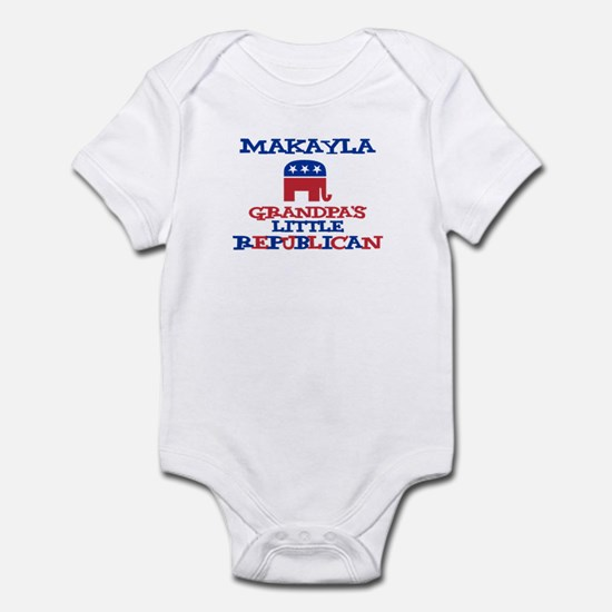 Makayla - Grandpa's Little Re Infant Bodysuit