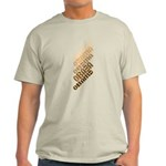 Stacked Obama Brown Light T-Shirt