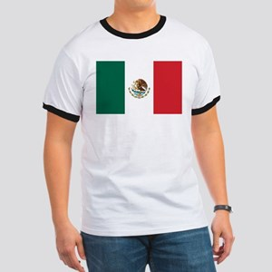 Flag of Mexico Ringer T
