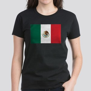 Flag of Mexico Women's Dark T-Shirt