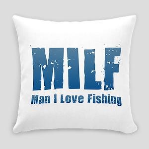 MILF - Man I Love Fishing Everyday Pillow