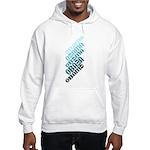 Stacked Obama Blue Hooded Sweatshirt