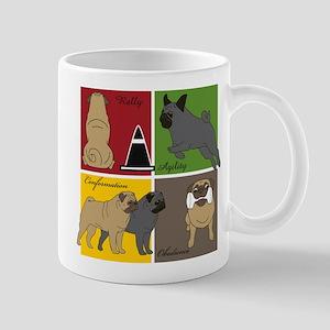 Pugs Do It All Mug