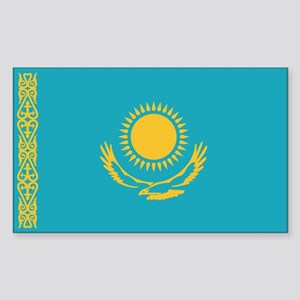 Flag of Kazakhstan Rectangle Sticker