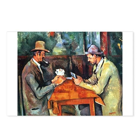 The Card Players Postcards (Package of 8)