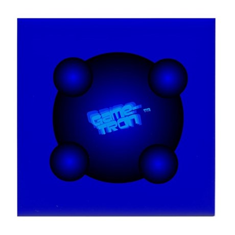 Game-Tron.&#8482 Tile Coaster