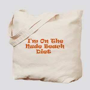 Nude Beach Diet Tote Bag