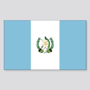 Flag of Guatemala Rectangle Sticker