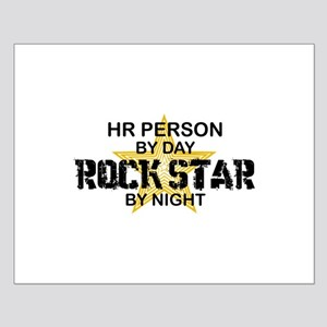 HR Rock Star by Night Small Poster