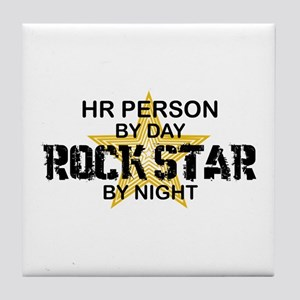 HR Rock Star by Night Tile Coaster