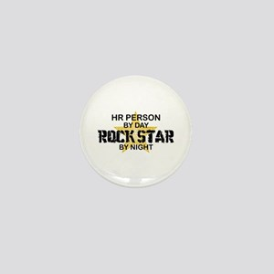 HR Rock Star by Night Mini Button