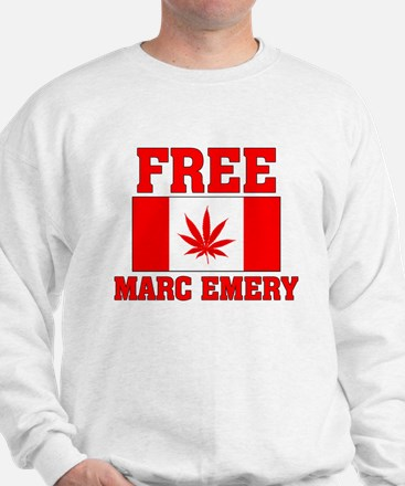 Free Marc Emery Sweatshirt
