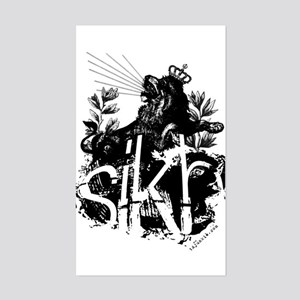 One SIKH. Rectangle Sticker