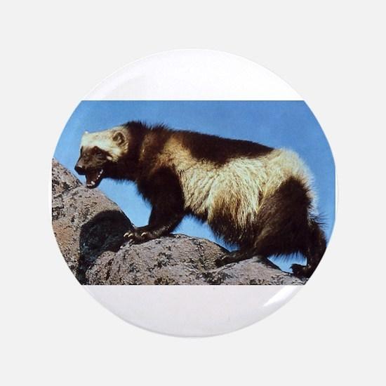 """Wolverine Photo 3.5"""" Button"""