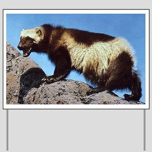 Wolverine Photo Yard Sign