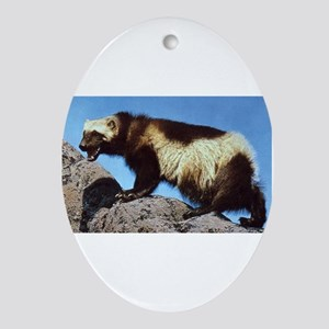 Wolverine Photo Oval Ornament