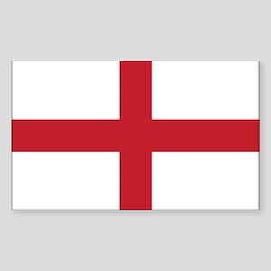 Flag of England Rectangle Sticker
