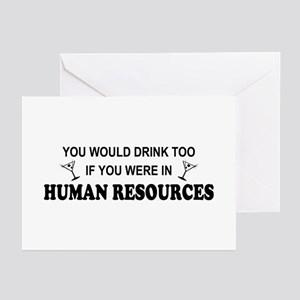 You'd Drink Too - HR Greeting Cards (Pk of 10)