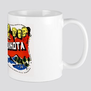 South Dakota Greetings Mug