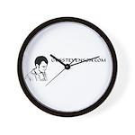 GUSSTEVENSON.COM Wall Clock