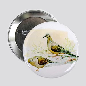 "Mourning Dove 2.25"" Button"