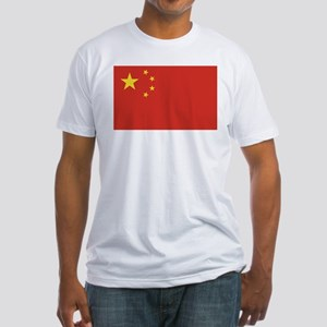 Flag of China Fitted T-Shirt