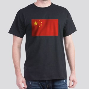 Flag of China Dark T-Shirt