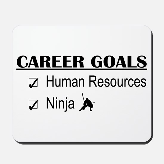 HR Career Goals Mousepad