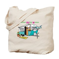 Fabulous Rving Women Logo Tote Bag