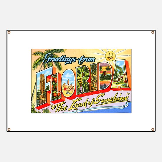 Florida Greetings Banner