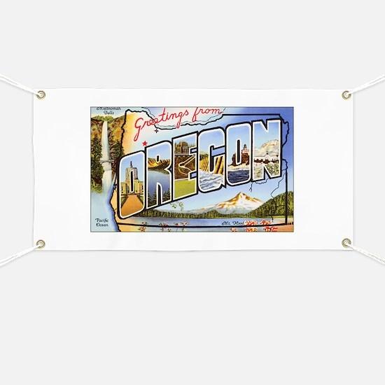 Oregon Greetings Banner