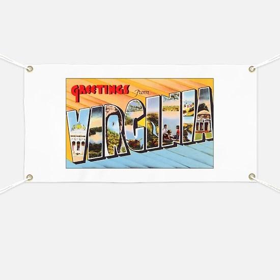 Virginia Greetings Banner