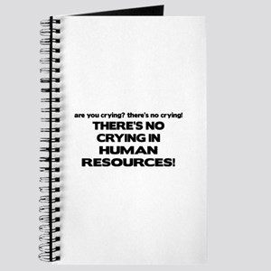There's No Crying HR Journal