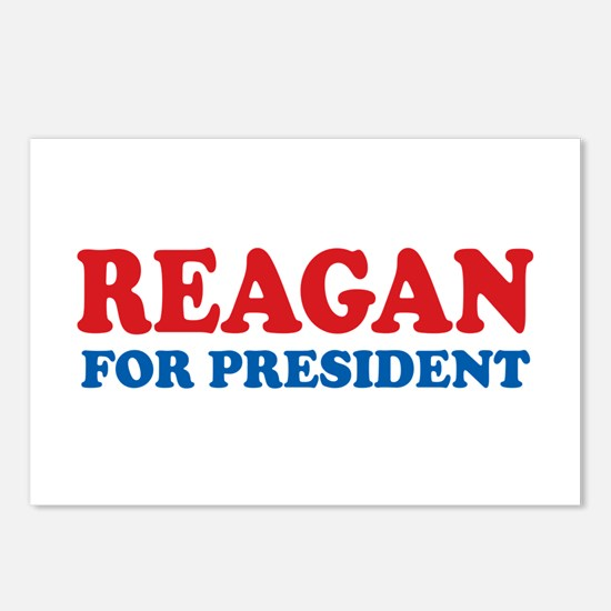 Reagan for President Postcards (Package of 8)