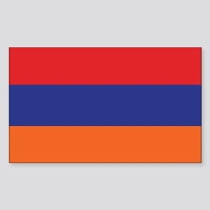 Flag of Armenia Rectangle Sticker