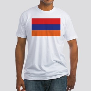 Flag of Armenia Fitted T-Shirt