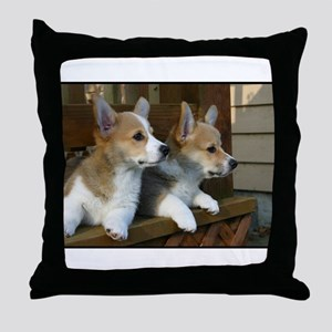 Double Trouble! Throw Pillow