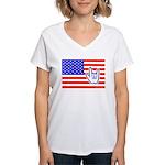 ILY Flag Women's V-Neck T-Shirt