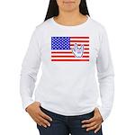 ILY Flag Women's Long Sleeve T-Shirt