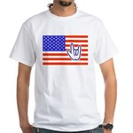 ILY Flag White T-Shirt