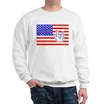 ILY Flag Sweatshirt